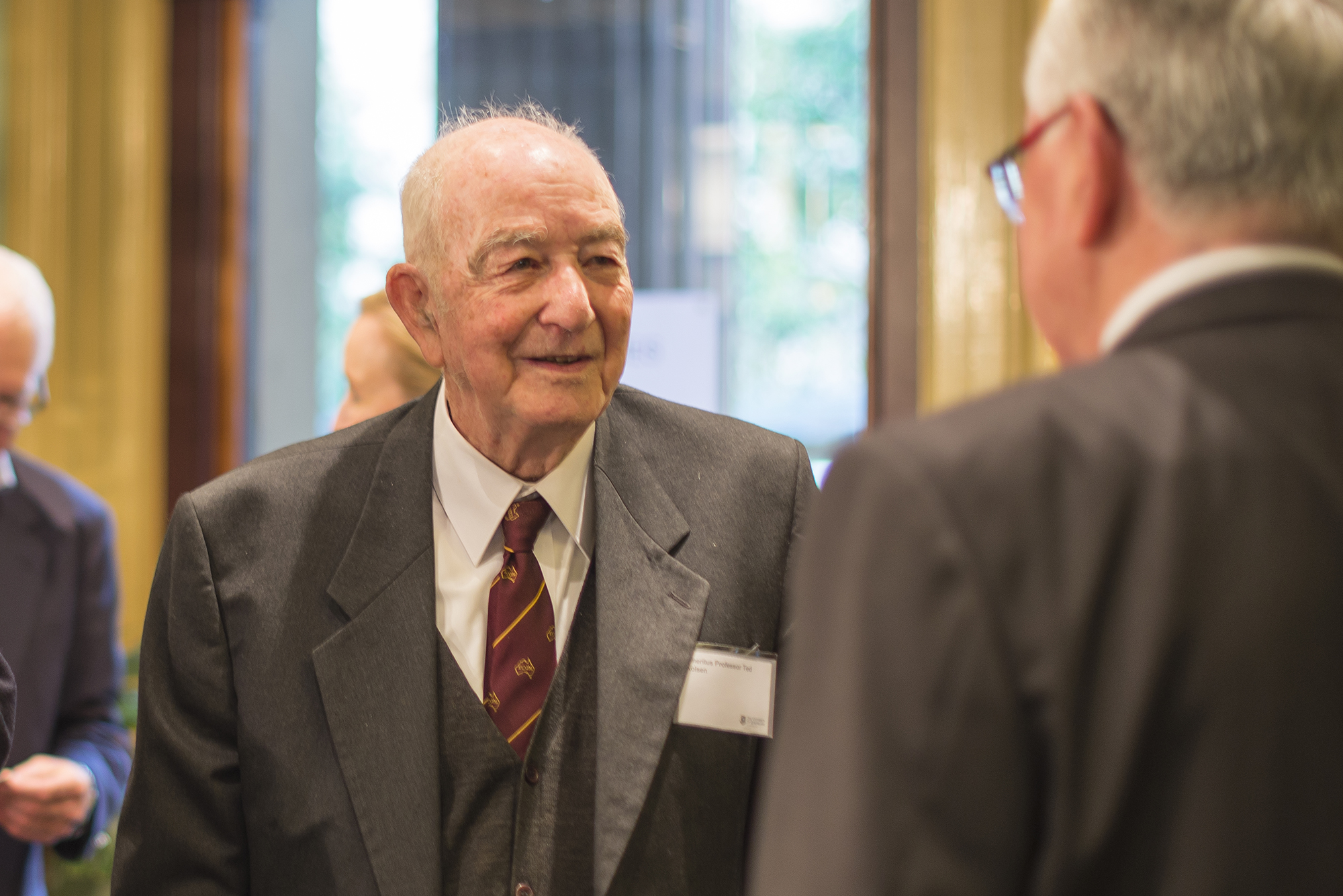 Emeritus Professor and former Head of School Ted Kolsen