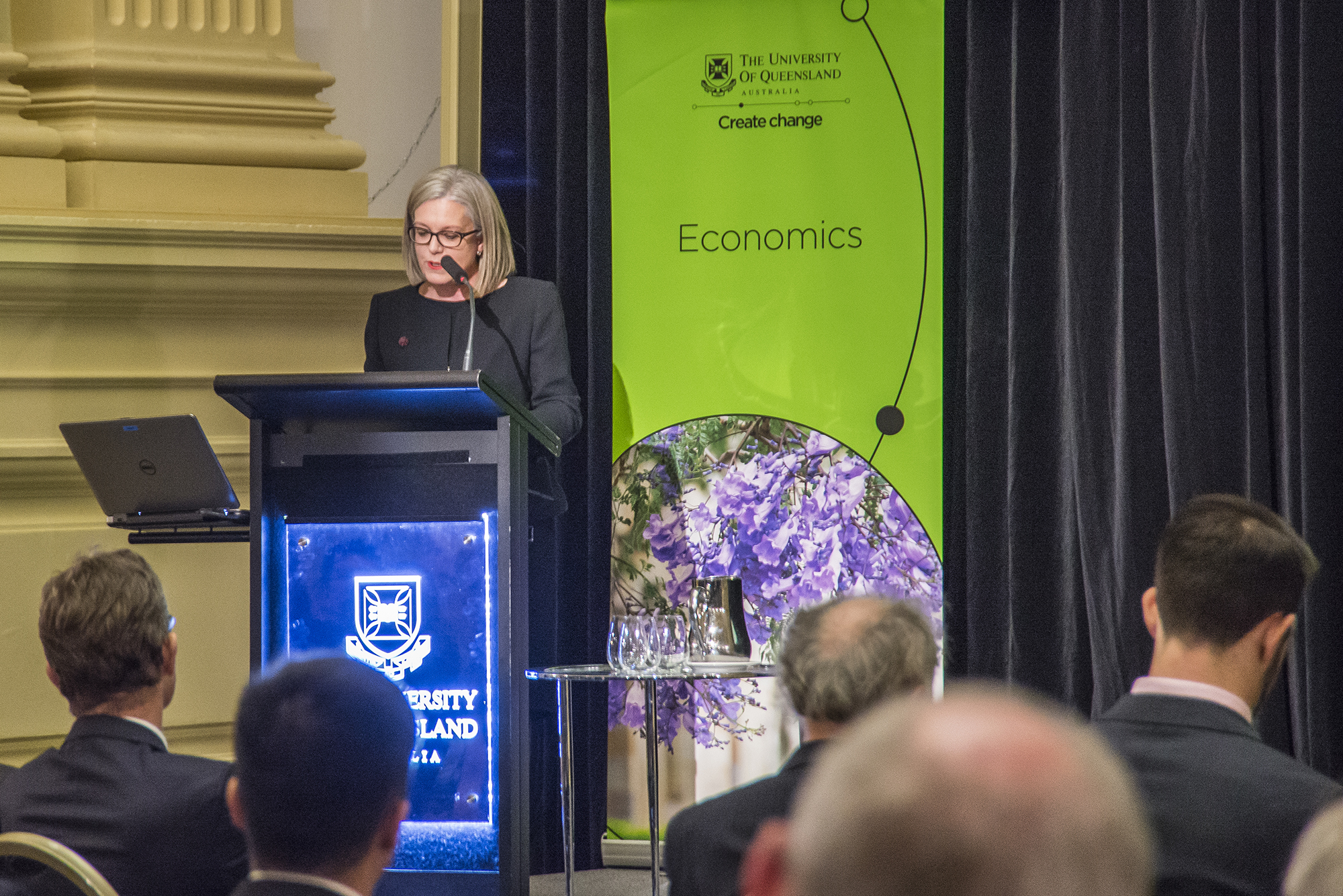 Karen Chester, Deputy Chair of Productivity Commission and School of Economics alumna