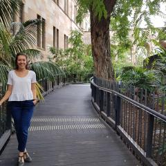 UQ communications officer Jai Morton ponders the sometimes jagged path from passion to profession.