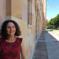 UQ Master of Philosophy candidate Kali Napier wasn't alive in 1932, but her detailed research on the time period for her debut novel has tricked readers into thinking the author has the power of time-travel.