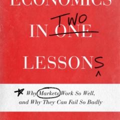Economics in Two Lessons book cover