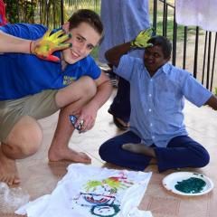 Patrick Lynch on his India Immersion trip